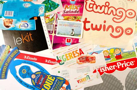 Réalisation d'étiquettes et d'enveloppes