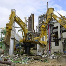 Matériel de démolition pour chantier
